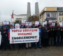 İSKOOP çalışanları: 'Tek ilacımız sendika'