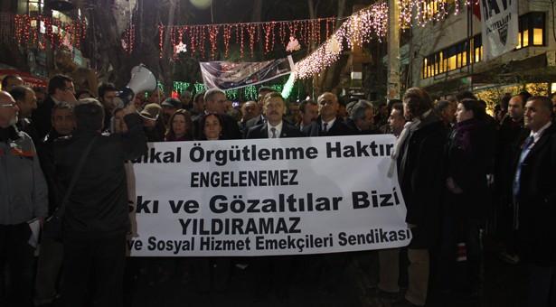 AİHM mahkum etti: 'Basın açıklamasına para cezası kesilemez'