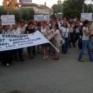 Mersin'de kadınlar IŞİD karanlığına karşı sokakta