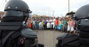 Liberya: Ebola isyanına polisten ateş