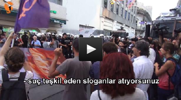 Artık Erdoğan aleyhine slogan atmak suç