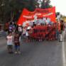 Hatay halkı savaşa karşı sokakta