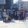 Eminönü'nde cihatçı çetelere destek standı