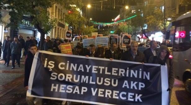 Zonguldak, Samsun, Adana ve Bursa'da Ermenek'teki madenciler için eylem