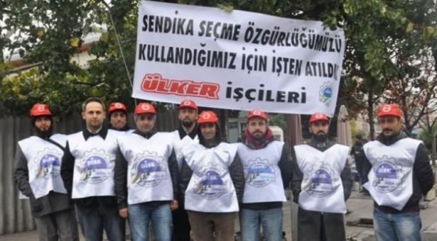 Ülker işçilerinin direnişi devam ediyor