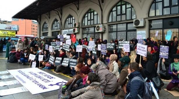 Kadın katliamlarına karşı sokakta, savaşa karşı sınırda direniş