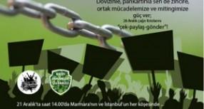 Marmara'yı savunanlar yaşam zinciri kuracak